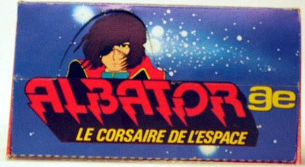Captain Harlock - AGE - Stickers Box empty