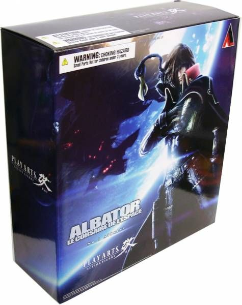 Captain Harlock - Albator - Play Arts Kai Action Figure - Square Enix