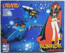 Captain Harlock - Ceji-Arbois Takara - Arcadia Atlantis (loose with box)