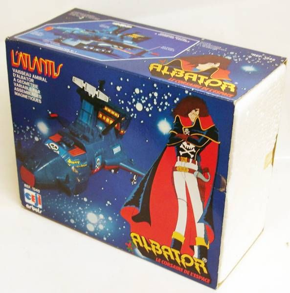 Captain Harlock - Ceji-Arbois Takara - Arcadia Atlantis (loose with box)