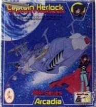 Captain Harlock - Ceppi Ratti Takara - Mini Death Shadow (mint in box)