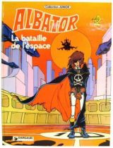 Captain Harlock - Dargaud Antenne 2  Editions - The space battle