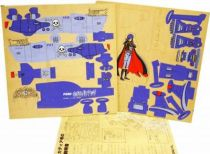 Captain Harlock - Death Shadow wood model-kit - Seika Note Co.