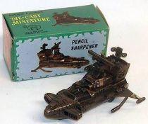 Captain Harlock - Die-cast Death Shadow pencil-sharpener (mint in box)
