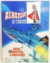 Captain Harlock - G.P. & Antenne 2  Editions - Alone against the universe