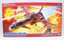 Captain Harlock - Hasegawa Hobby Kit - Space Wolf SW-190 Herlock Custom 1:72
