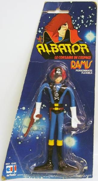 Captain Harlock - Ramis - Bendable figure - Ceji