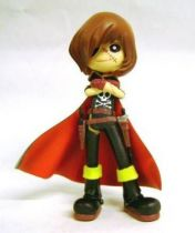 Captain Harlock - SD figure Garage Kit  - Captain Harlock