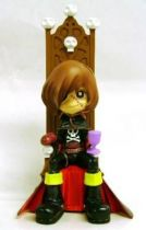 Captain Harlock - SD figure Garage Kit - Captain Harlock on his throne