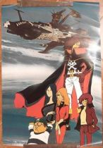 """Captain Harlock\"" Poster - Scandecor Editions (ref.1986) - 1979"
