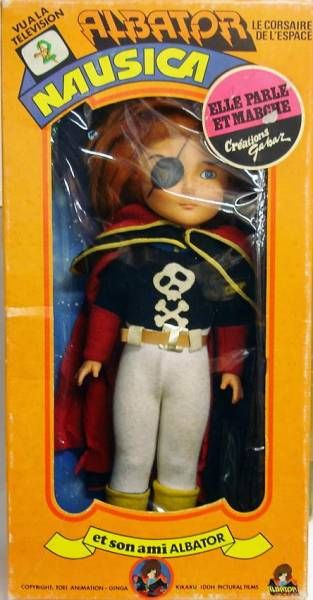 Captain Harlock 20\'\' doll - Gabar