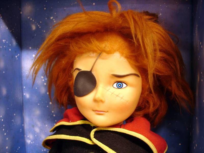Captain Harlock 20\'\' doll - Gabar