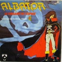 Captain Harlock Original French TV series Soundtrack - Mini-LP Record - Charles Talar Records 1979