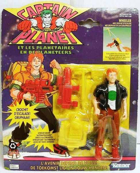 "Captain Planet - Wheeler ""with grappling hook\"""