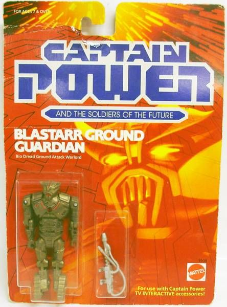 Captain Power - Blastaar Ground Guardian (USA)