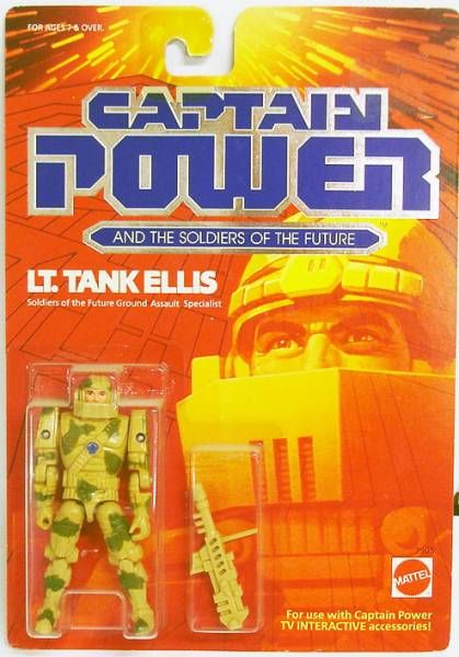 Captain Power - Lt. Tank Ellis (USA)