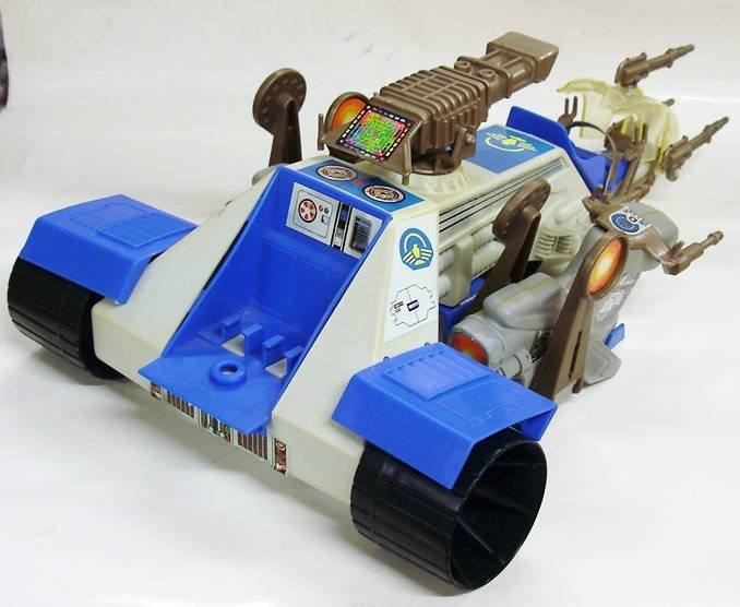 Captain Power - Mobile Sky Bike Launcher (loose)