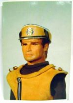 Captain Scarlet - Bloomsberry Books Postal Card - Captain Ochre
