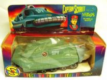 Captain Scarlet - Bubble Bath - SPV (Spectrum Pursuit Vehicule)