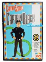 Captain Scarlet - Dekkertoys - Catpain Black Playsuit
