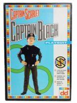 Captain Scarlet - Dekkertoys - Catpain Black Playsuit