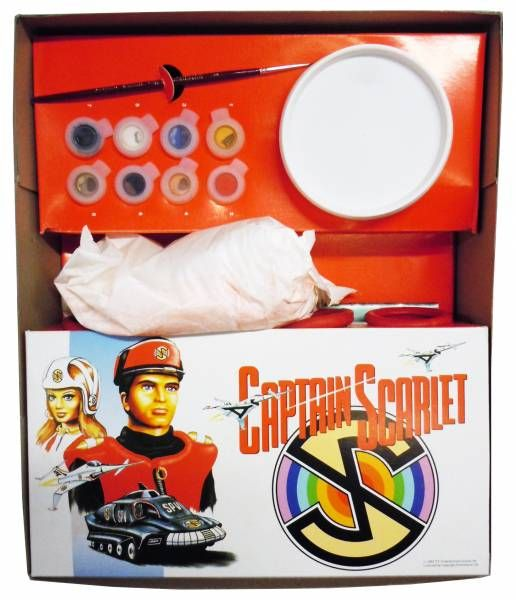 Captain Scarlet - Peter Pan Playthings - Catpain Scarlet and the Mysteons Adventure Game