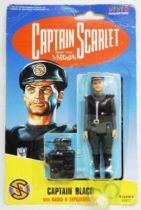 Captain Scarlet - Vivid - Captain Black (mint on card)