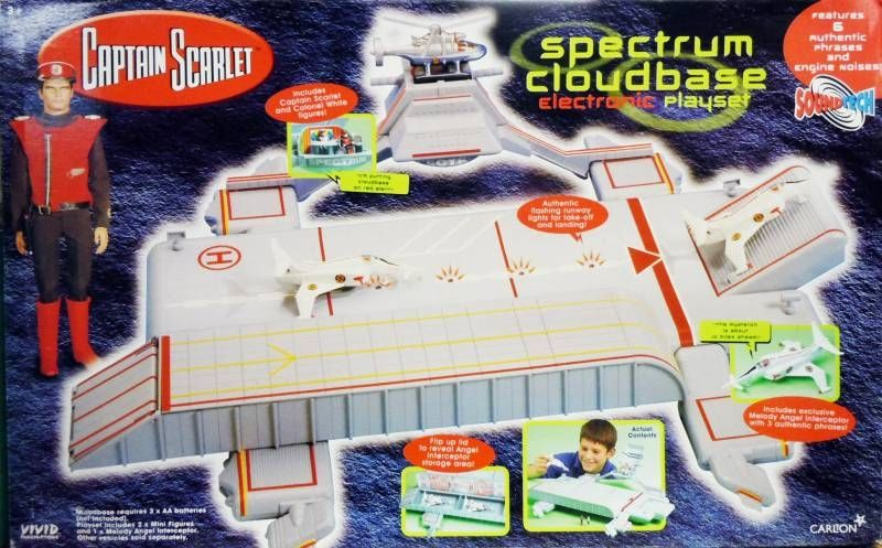 Captain Scarlet - Vivid - Spectrum Cloudbase Electronic Playset (Soundtech)