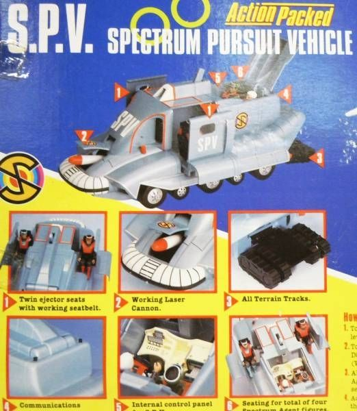 Captain Scarlet - Vivid - SPV (Spectrum Pursuit Vehicule) Action Packed (loose in box)