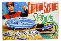 Captain Scarlet - Wesco - SPV (Spectrum Pursuit Vehicule) Talking Alarm Clock Diorama Pressure Control