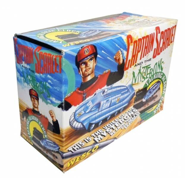 Captain Scarlet - Wesco - SPV (Spectrum Pursuit Vehicule) Talking Alarm Clock Diorama Pressure Control