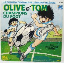 Captain Tsubasa - Mini-Lp record - Original TV Soundtrack - Adès Records 1986