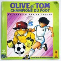 Captain Tsubasa - Record-Book 45s - A goalkeeper on the sideline - Ades / Le Petit Menestrel Records 1988