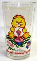 Care Bears - Amora mustard glass - Birthday Bear