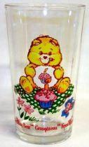 Care Bears - Amora mustard glass - Birthday Bear