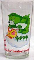 Care Bears - Amora mustard glass - Good Luck Bear
