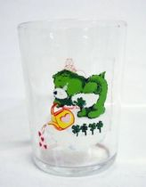 Care Bears - Amora mustard glass - Good Luck Bear