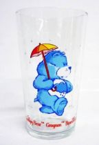 Care Bears - Amora mustard glass - Grumpy Bear