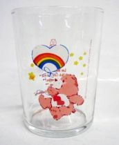 Care Bears - Amora mustard glass - Love-a-Lot Bear