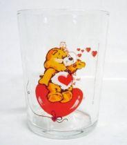 Care Bears - Amora mustard glass - Tenderheart Bear