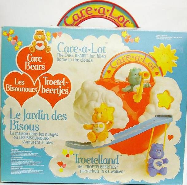 Care Bears - Kenner - Action Figure - Care-A-Lot playset