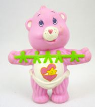 Care Bears - Kenner - Miniature - Baby Hugs Bear holds a cut out paper dolls (loose)