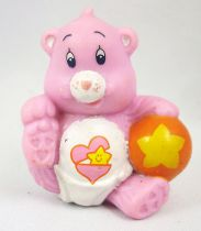 Care Bears - Kenner - Miniature - Baby Hugs Bear playing with her ball (loose)