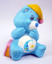Care Bears - Kenner - Miniature - Bedtime Bear napping with a nightcap (loose)