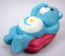 Care Bears - Kenner - Miniature - Bedtime Bear sleeping on a fluffy pillow (loose)