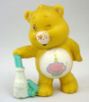 Care Bears - Kenner - Miniature - Birthday Bear playing a favourite party game (loose)