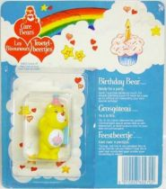 Care Bears - Kenner - Miniature - Birthday Bear ready for a party (square card)