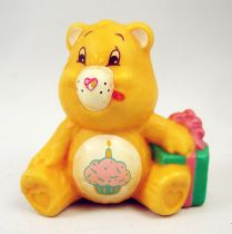 Care Bears - Kenner - Miniature - Birthday Bear sitting with a present (loose)