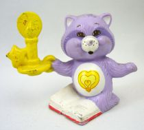 Care Bears - Kenner - Miniature - Bright Heart Raccoon solving a problem (loose)