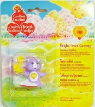 Care Bears - Kenner - Miniature - Bright Heart Raccoon solving a problem (square card)